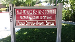 Picture of Protech Sign out front at 1200 Vine Street